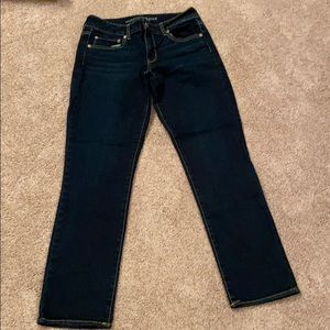 American Eagle straight jeans Size 10